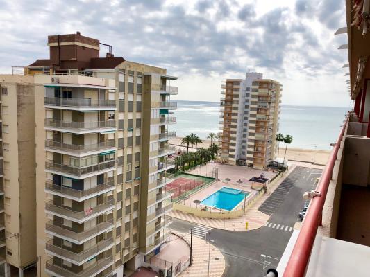 Inmobiliaria Cullera Playa Gestitur - Apartamento en Segunda línea de Playa. #5773 - En Venta