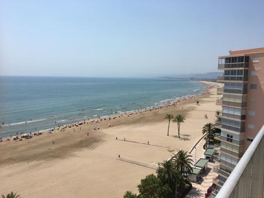 Inmobiliaria Cullera Playa Gestitur - Apartamento en Primera línea de Playa. #5545 - En Venta