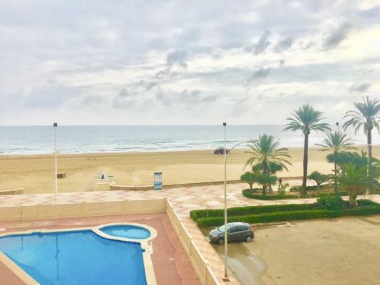 Inmobiliaria Cullera Playa Gestitur - Apartamento en Primera línea de Playa. #5745 - En Venta