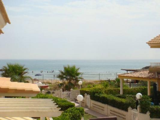 Inmobiliaria Cullera Playa Gestitur - Chalet Pareado en Marenyet con vistas al mar. #3573 - En Venta